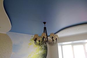 Заказать сатиновый потолок в Дмитрове